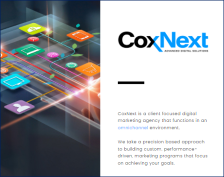 CoxNext agency one sheet